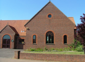 Dersingham Catholic church