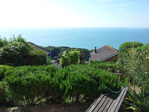 View from our front garden, Ventnor.