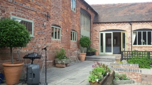Curradine Barns Courtyard.