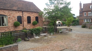 Curradine Barns Courtyard.
